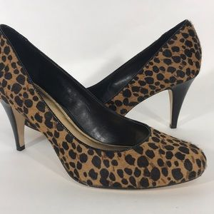Antonio Melani Leopard heels size 9 NWOB